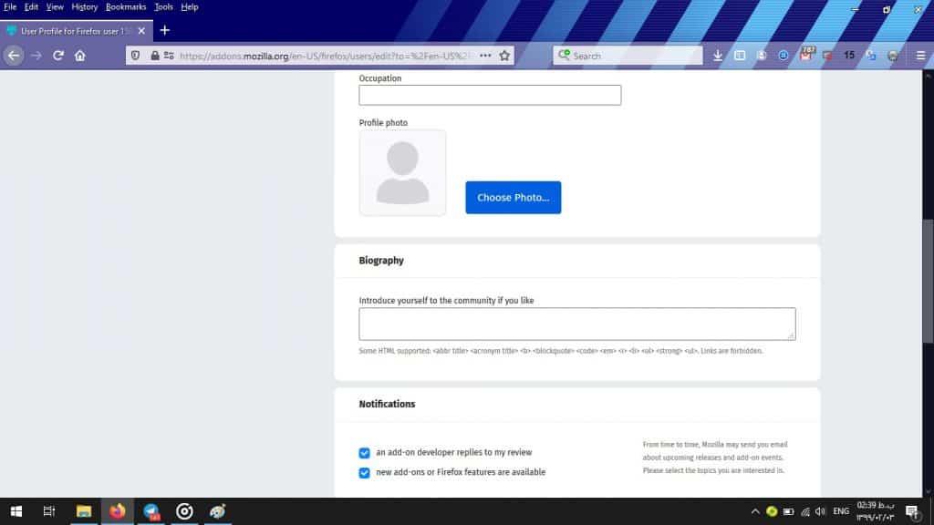 آموزش ساخت تم برای مرورگر موزیلا فایرفاکس