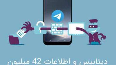 Photo of دیتابیس و اطلاعات 42 میلیون کاربر ایرانی تلگرام