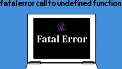 Photo of آموزش رفع خطای fatal error call to undefined function وردپرس
