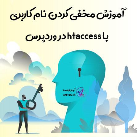 آموزش مخفی کردن نام کاربری با htaccess در وردپرس