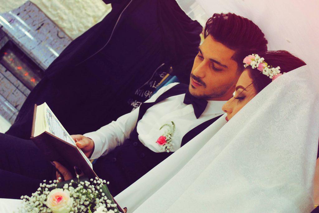 عکاسی از مراسم عروسی امیر علی برزگر