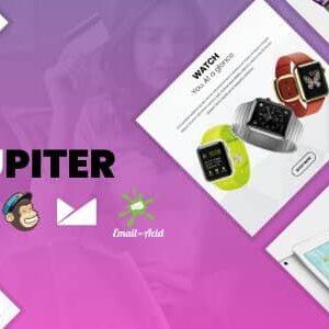 دانلود قالب HTML فروشگاهی Jupiter