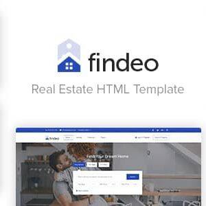 دانلود قالب HTML املاک Findeo