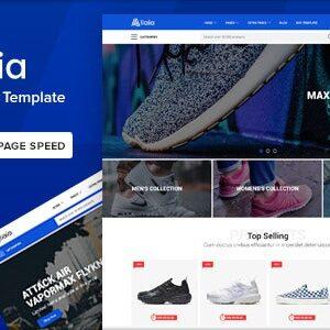 دانلود قالب HTML فروشگاهی Allaia