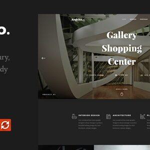 دانلود قالب HTML طراحی داخلی Archiko