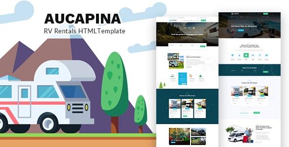 دانلود قالب HTML اجاره ماشین Aucapina