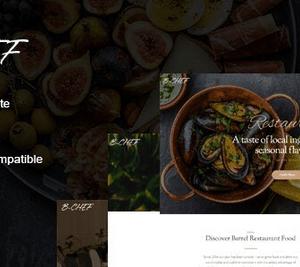 دانلود قالب HTML رستوران B-Chef