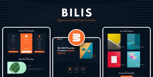 دانلود قالب HTML شرکتی Bilis