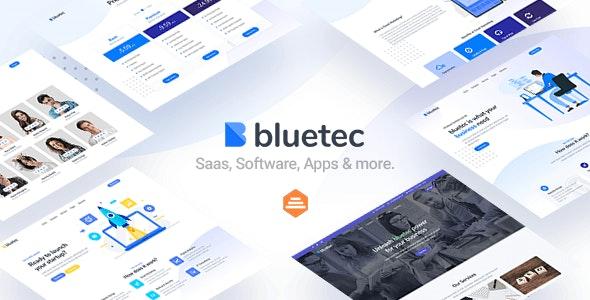 دانلود قالب HTML شرکتی Bluetec