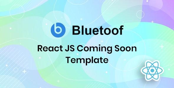 دانلود قالب HTML بزودی Bluetoof