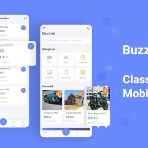 دانلود قالب HTML آگهی موبایل Buzzle