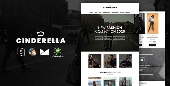 دانلود قالب HTML فروشگاهی Cinderella