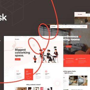 دانلود قالب HTML دفتر کار Codesk