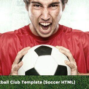 دانلود قالب HTML کلوب هواداری فوتبال FC