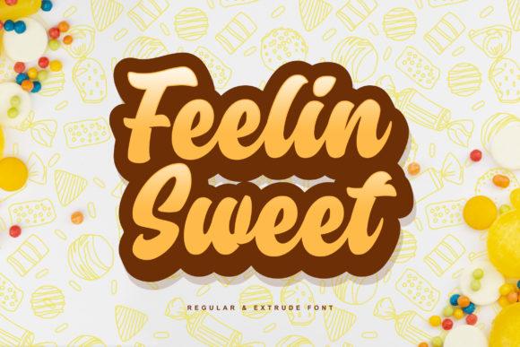 دانلود فونت فلین سوییت Feelin Sweet
