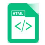قالب HTML
