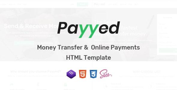 دانلود قالب HTML خدمات مالی Payyed