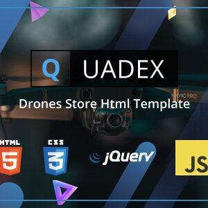 دانلود قالب HTML خدمات عکاسی Quadex