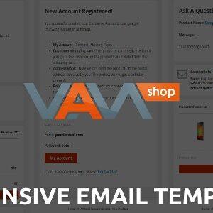 دانلود قالب HTML ایمیل VamShop