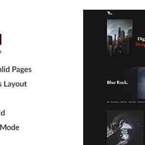 دانلود قالب HTML نمونه کار Robi