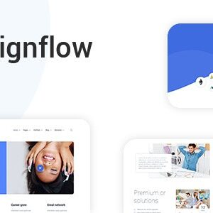دانلود قالب HTML استارتاپ Signflow