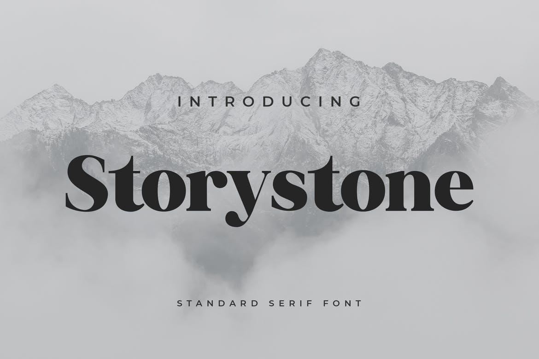 دانلود فونت استوری استون Storystone