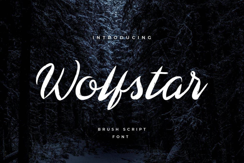 دانلود فونت ولف استار Wolfstar