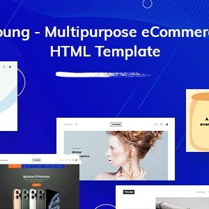 دانلود قالب HTML چندمنظوره Young