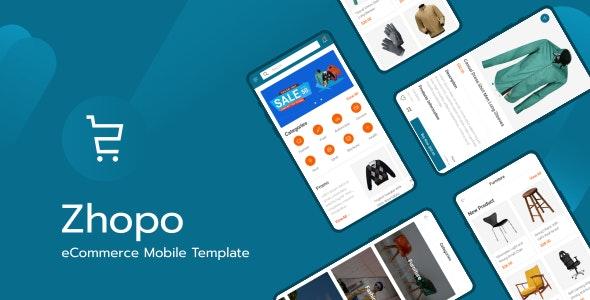 دانلود قالب HTML موبایلی Zhopo