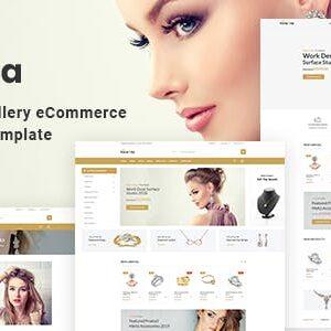 دانلود قالب HTML فروشگاهی Hiraola