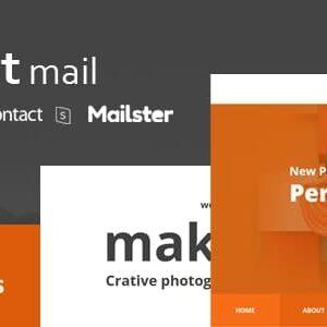 دانلود قالب HTML ایمیل makit Mail