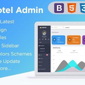 دانلود قالب HTML داشبورد مدیریت Spice Hotel