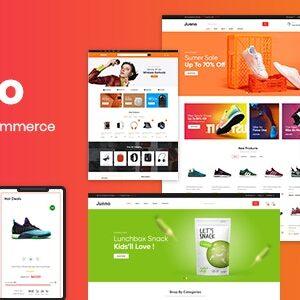 دانلود قالب HTML فروشگاهی Junno
