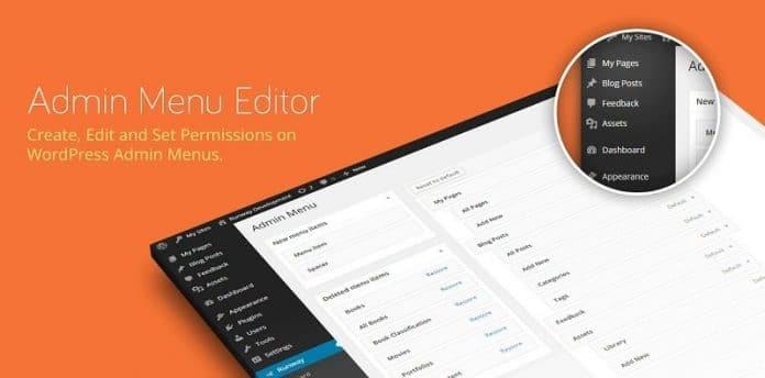 دانلود افزونه وردپرس ویرایش منوی مدیریت Admin Menu Editor Pro