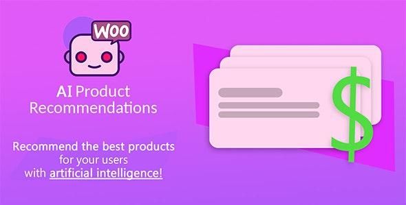 دانلود افزونه ووکامرس توصیه محصولات مرتبط AI Product Recommendations