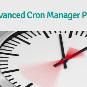 دانلود افزونه وردپرس مدیریت کران جاب Advanced Cron Manager PRO