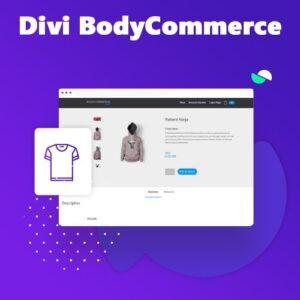 دانلود افزونه وردپرس Divi BodyCommerce