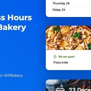دانلود افزونه وردپرس Business Hours برای WPBakery