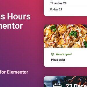 دانلود افزونه وردپرس مشخص کردن ساعات کاری Worker برای المنتور