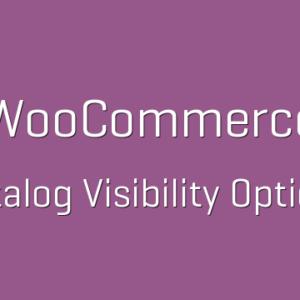 دانلود افزونه ووکامرس WooCommerce Catalog Visibility Options