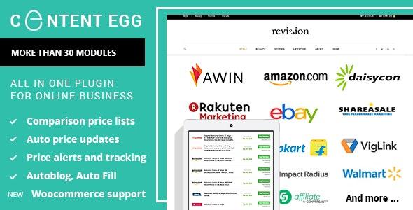 دانلود افزونه وردپرس مقایسه قیمت Content Egg