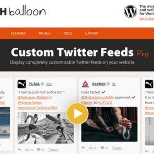 دانلود افزونه وردپرس فید توییتر Custom Twitter Feeds Pro