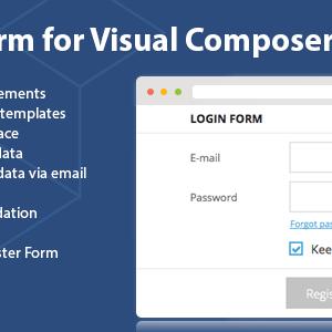 دانلود افزونه وردپرس DHVC Form برای WPBakery