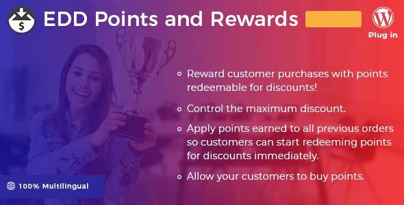 دانلود افزونه وردپرس Easy Digital Downloads – Points and Rewards