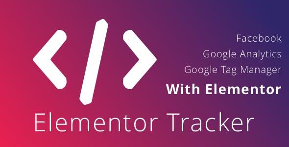 دانلود افزونه وردپرس Elementor Tracker