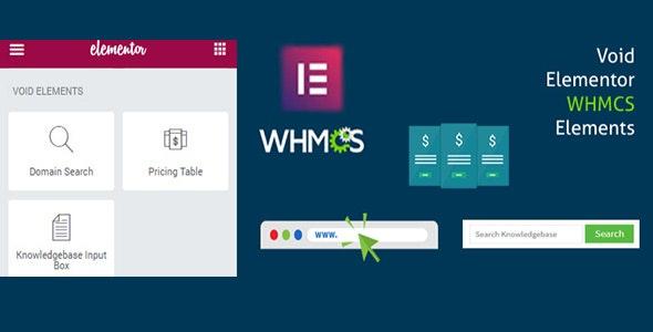 دانلود افزونه وردپرس Elementor WHMCS Elements Pro برای المنتور