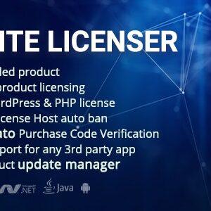 دانلود افزونه وردپرس مدیریت لایسنس نرم افزار Elite Licenser