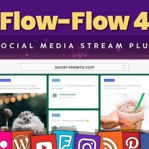 دانلود افزونه وردپرس شبکه های اجتماعی Flow Flow