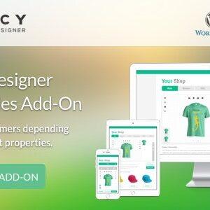 دانلود افزونه وردپرس Fancy Product Designer Pricing Add-On