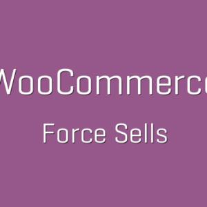 دانلود افزونه ووکامرس WooCommerce Force Sells